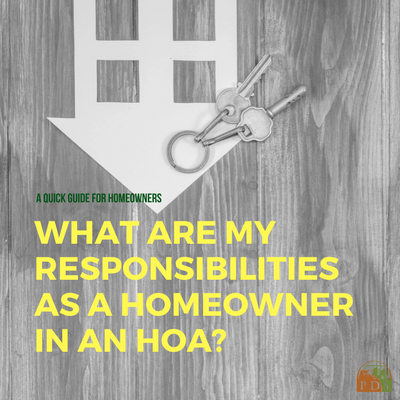 Homeowner Responsibilities in an HOA by Planned Development Services