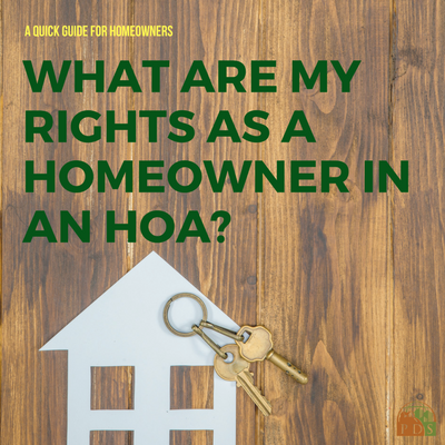 HOA Management Homeowner Rights Planned Development Services