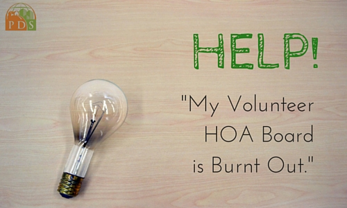 "HOA Board ""Burn Out"""