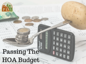Best Practices for Passing an HOA Budget