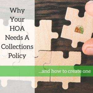 Why Your HOA Needs a Collections Policy