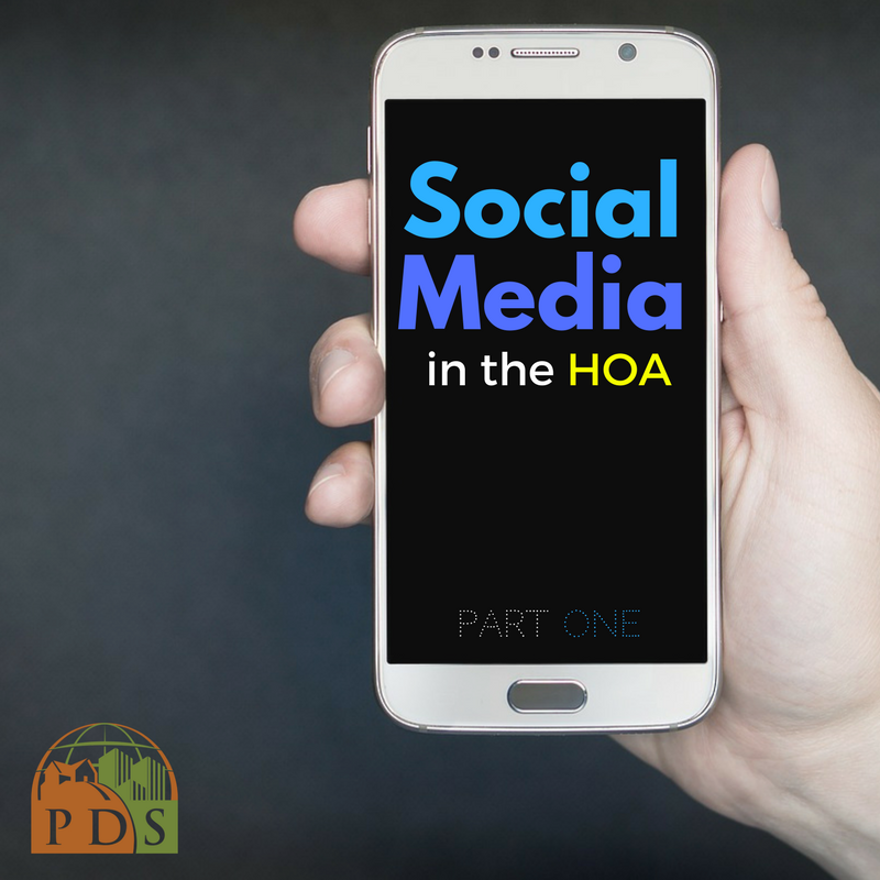 How the HOA Board Uses Social Media