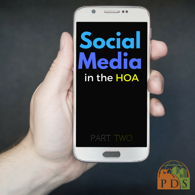 Social Media in the HOA